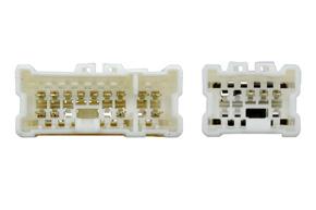 Adaptér pro ovládání na volantu Nissan - detail konektoru