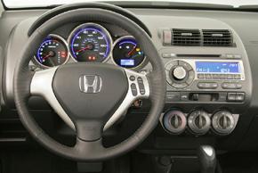 Honda Jazz 2005-2008 - interiér