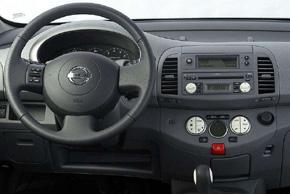 Nissan Micra (02-07) s originálním autorádiem