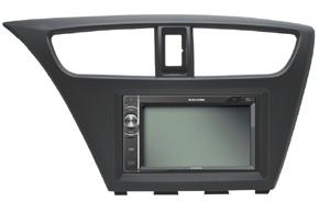 Rámeček 2DIN rádia Honda Civic (12->) s vestavěnou navigací Macrom