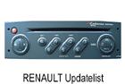 Renault OEM autotádio Update List