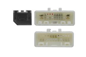 Adaptér pro ovládání na volantu Nissan Navara - detail konektoru