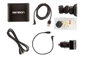 Dension aktivní držák pro Smartphone - obsah balení