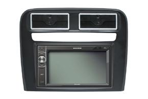 Rámeček autorádia Fiat Grande Punto (05-10) s vestavěnou navigací