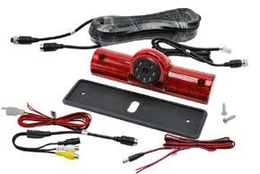 CCD univerzální zpětná kamera - obsah balení