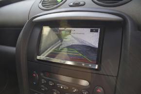 Adaptér 2DIN autorádia Rover 75 s vestavěnou navigacív automobilu