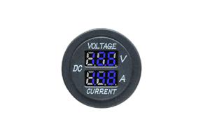 Digitální voltmetr a ampérmetr