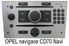 Navigace Opel CD70 Navi