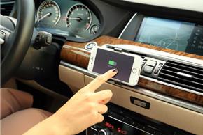 Inbay® QI univerzální nabíječka a držák mobilu do mřížky ventilace v automobilu
