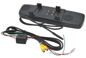 BK-043LU monitor v univerzálním zrcátku - obsah balení