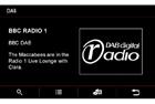 Adaptiv DAB modul - menu