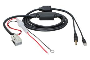 AUX a Apple Lightning adaptér BMW 3