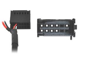 AUX a Apple Lightning adaptér Ford - detail konektoru