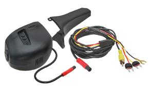 DVR kamera VW CC / Sharan - obsah balení