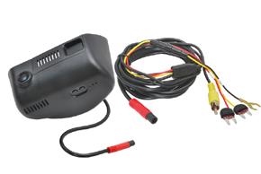 DVR kamera Jeep Cherokee - obsah balení