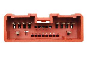 Adaptér pro ovládání na volantu Mazda 2 / 3 / 5 - detail konektoru