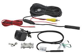 CCD univerzální zadní / přední parkovací kamera - obsah balení