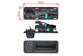 CCD parkovací kamera Hyundai i30 (17->) - rozměry