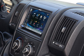 Instal.sada 2DIN autorádia Fiat / Peugeot / Citroen