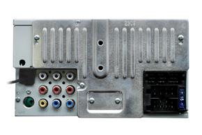 MACROM M-DVD4000 - pohled ze zadní strany
