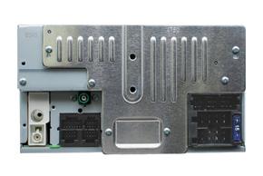 MACROM M-DVD6000DAB - pohled ze zadní strany