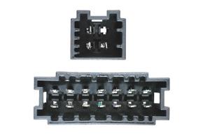 Adaptér pro aktivní audio systém Mercedes - detail konektoru