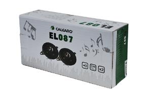 CALEARO EL-87 koaxiální reproduktory - balení