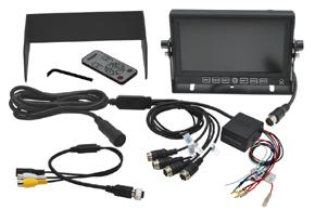 7 univerzální monitor s kvadrátorem