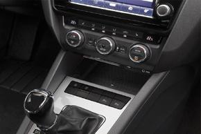 Inbay® Qi nabíječka Škoda Octavia III. - instalace v interiéru - bez telefonu