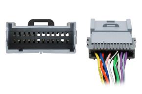 Adaptér pro aktivní audio systém Hummer - detail konektoru