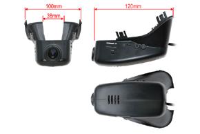 DVR kamera VOLVO S60 / S80 (12->) - rozměry