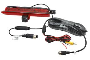 CCD parkovací kamera VW Caddy - obsah balení