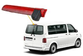 CCD parkovací kamera VW T5 / T6 - umístění