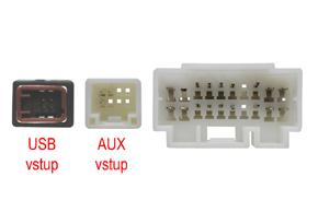 Adaptér pro ovládání na volantu Suzuki - detail konektoru