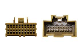 Adaptér pro HF sadu Opel - detail konektory