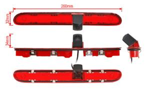 CCD parkovací kamera Citroen / Peugeot / Toyota - rozměry