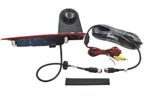 CCD parkovací kamera Ford Transit Custom (5/16->) - obsah balení