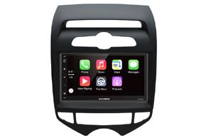 Adaptér 2DIN autorádia Hyundai ix20 aut.klima s vestavěnou navigací Macrom