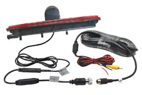 CCD parkovací kamera Iveco Daily - obsah balení