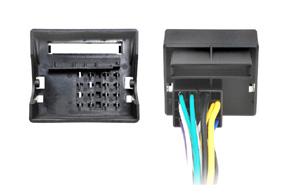 Adaptér pro ovládání na volantu Škoda - detail konektoru