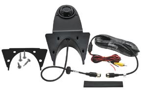 CCD parkovací kamera na zadní hranu střechy - obsah balení