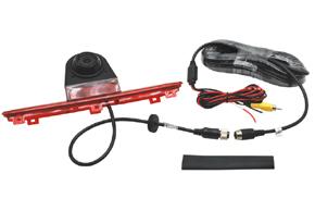CCD parkovací kamera Fiat Ducato - obsah balení
