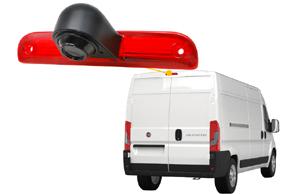 CCD parkovací kamera Fiat Ducato - umístění na automobilu