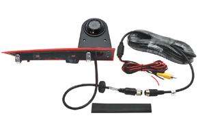 CCD parkovací kamera Ford Transit Custom (12-16) - obsah balení