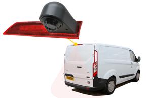 CCD parkovací kamera Ford Transit Custom (12-16) - umístění v automobilu