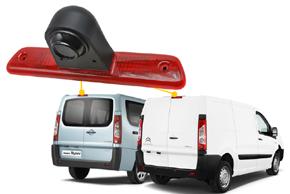 CCD parkovací kamera Citroen / Peugeot / Toyota - umístění v automobilu