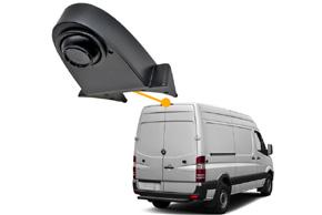 CCD parkovací kamera na zadní hranu střechy - instalace v automobilu