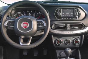 Fiat Tipo (15->) - interiér