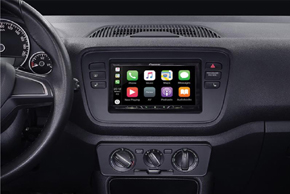Adaptér 2DIN autorádia Škoda / VW / Seat s instalovanou navigací Pioneer