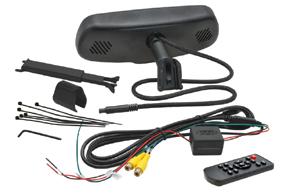 AK3-043LA monitor v zrcátku - obsah balení